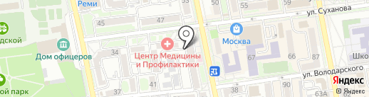 Аптека №3 на карте Уссурийска