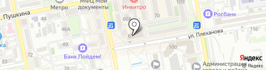 Карат на карте Уссурийска