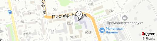 Автомобильно-технический колледж на карте Уссурийска