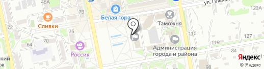 Служба единого заказчика-застройщика на карте Уссурийска