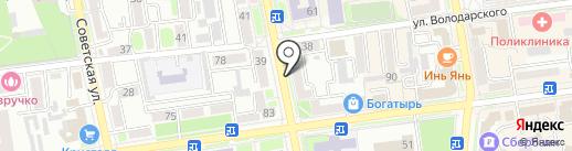 Фурор на карте Уссурийска