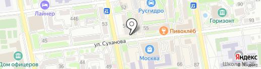 РФСеть на карте Уссурийска