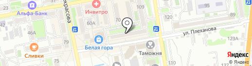Кормушка на карте Уссурийска