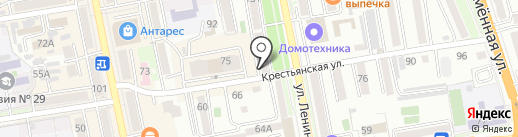 Элегант на карте Уссурийска