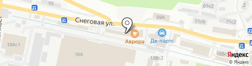 Овердрайв на карте Владивостока