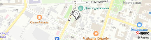 Краевой центр охраны труда на карте Уссурийска