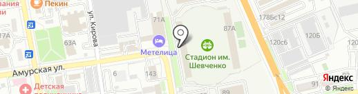 Патриот на карте Уссурийска