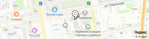 Студия Т на карте Уссурийска