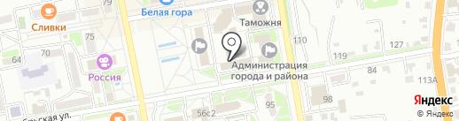 Отдел судебных приставов Уссурийского городского округа на карте Уссурийска
