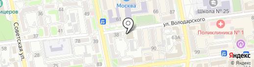 Денто класс на карте Уссурийска
