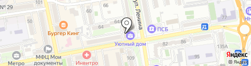 Пати-Бум на карте Уссурийска