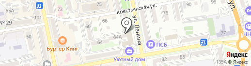 Банкомат, МДМ Банк, ПАО на карте Уссурийска