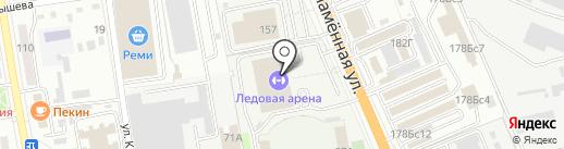 Тафгай на карте Уссурийска