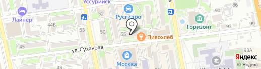 Nadi на карте Уссурийска