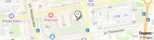 Сталкер на карте Уссурийска