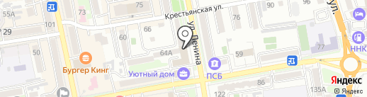 Альфа-Банк на карте Уссурийска