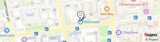 Chapeau на карте Уссурийска