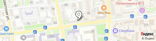 БИЗНЕС-КАФЕ на карте Уссурийска