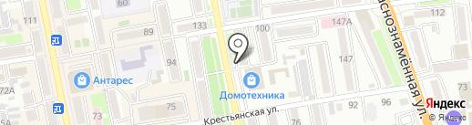 Пионер на карте Уссурийска