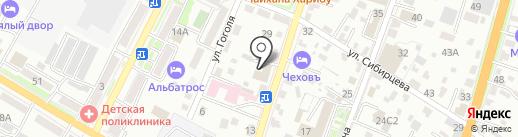 Сады Приморья на карте Уссурийска