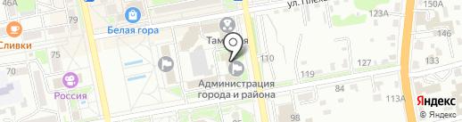 Дума Уссурийского городского округа на карте Уссурийска