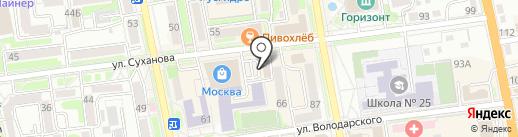 SV Lux на карте Уссурийска