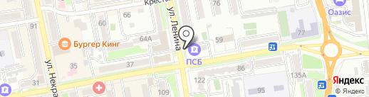 Терминал, Промсвязьбанк, ПАО на карте Уссурийска