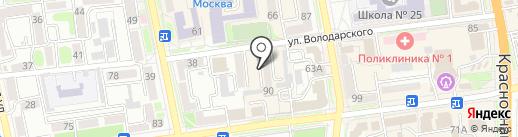 Константа на карте Уссурийска