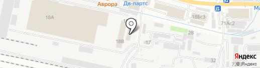 Томские мебельные фасады на карте Владивостока