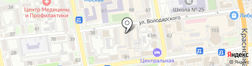 Подшиваем плюс на карте Уссурийска