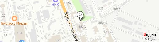 Караван на карте Уссурийска