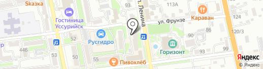МОЕР на карте Уссурийска