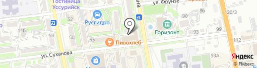 Экперт-Видео ДВ на карте Уссурийска