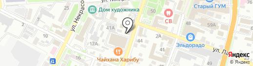 ГЛАМ дизайн на карте Уссурийска