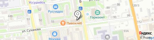 Центр по оформлению купли-продажи автомобиля и автострахованию на карте Уссурийска