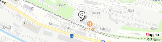 Автолюкс на карте Владивостока