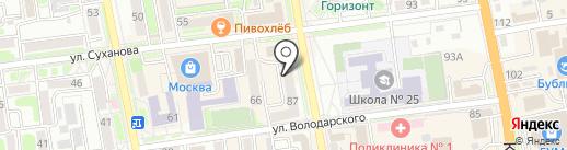 Ажур на карте Уссурийска