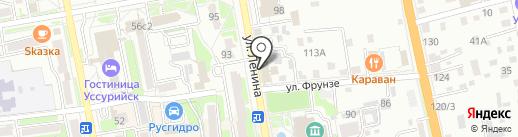 Эксперт на карте Уссурийска