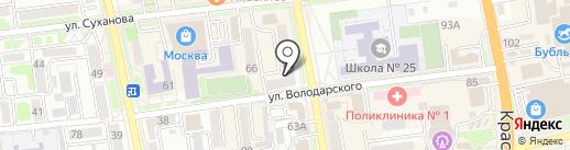 Юридическая компания СоветникЪ на карте Уссурийска