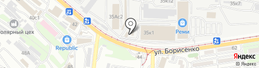 Ж/Д Регион на карте Владивостока