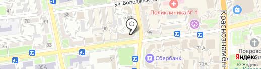 Мемориальная компания на карте Уссурийска