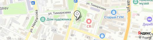 Сорбонна на карте Уссурийска