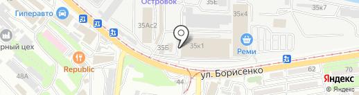 Wiro на карте Владивостока