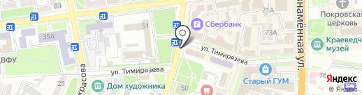Сундук на карте Уссурийска