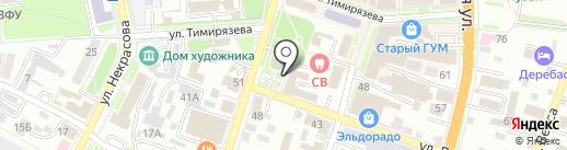 Восточный экспресс банк на карте Уссурийска