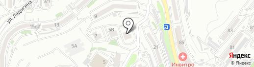 Политехник на карте Владивостока