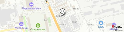 Магазин автозапчастей на карте Уссурийска