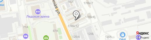 Автолюкс на карте Уссурийска