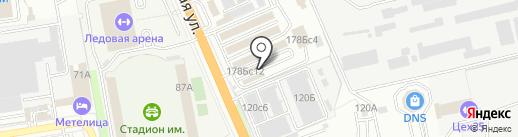 Магазин аккумуляторов на карте Уссурийска