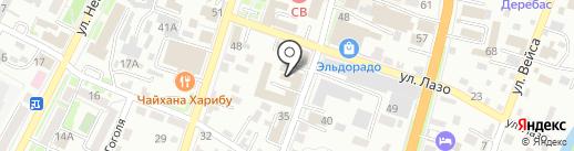 Домук-1 на карте Уссурийска